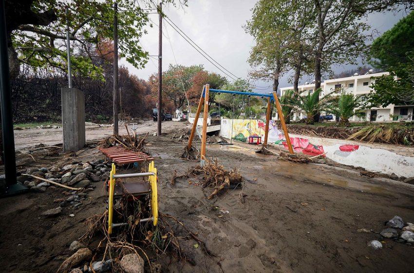 "Meteo: Η κακοκαιρία ""Αθηνά"" έριξε 700 χιλιοστά βροχής σε 72 ώρες στη Ζαγορά Πηλίου"