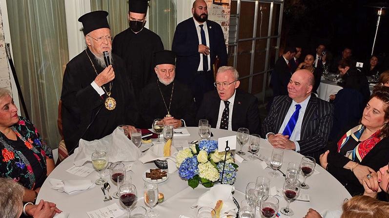 Συνάντηση Βαρθολομαίου με Πελόζι και στελέχη του Κογκρέσου