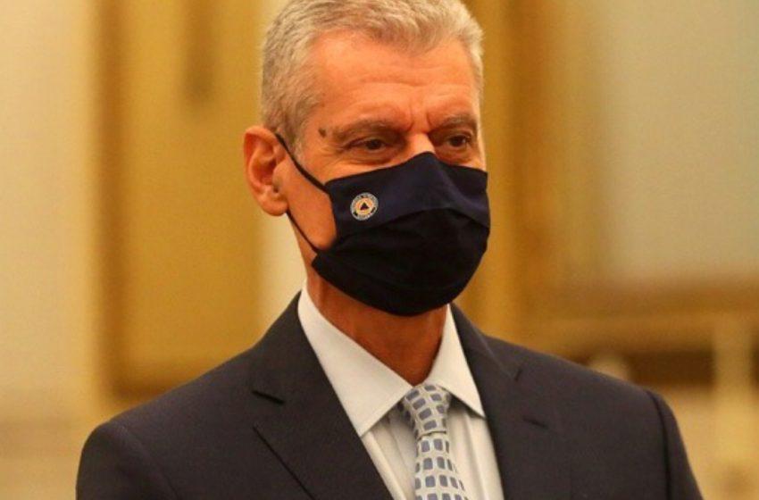 Στη Βόρεια Εύβοια ο υφυπουργός  Κλιματικής Κρίσης και Πολιτικής Προστασίας, Τουρνάς
