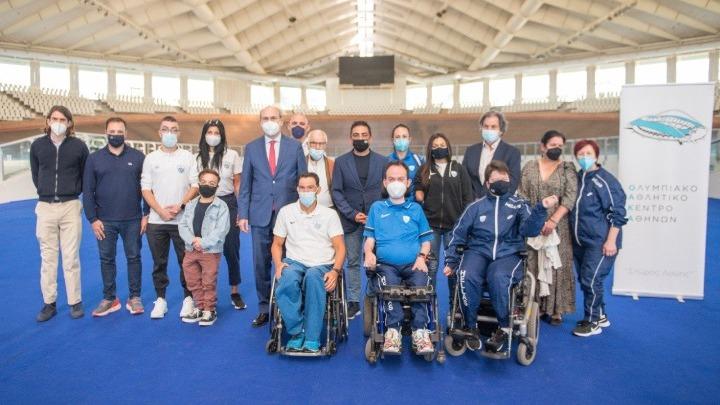 Συνάντηση του Κωστή Χατζηδάκη με τους Έλληνες Παραολυμπιονίκες