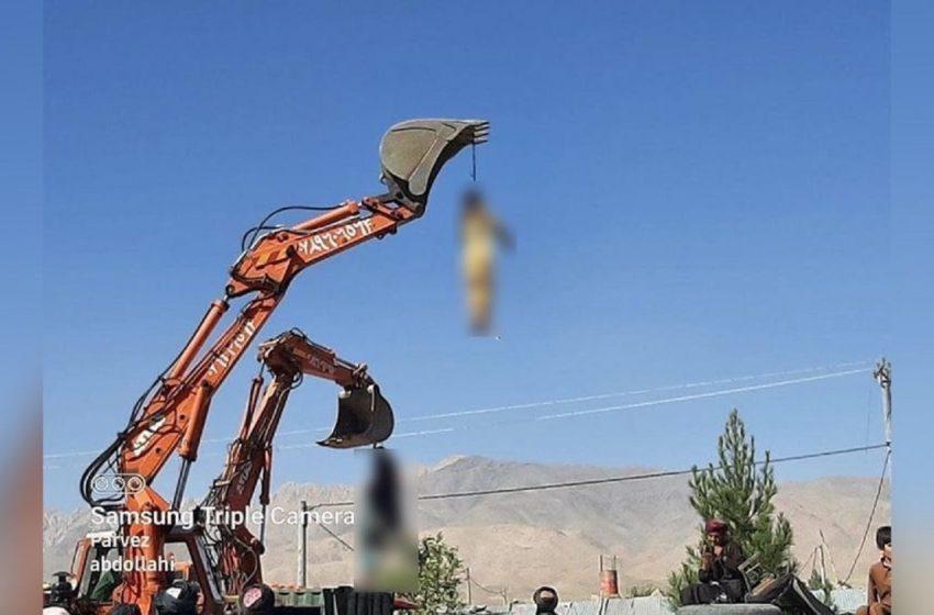 Αφγανιστάν: Οι Ταλιμπάν κρεμάνε κόσμο από γερανούς