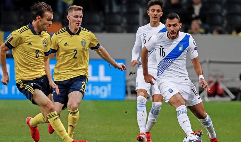 Προκριματικά Μουντιάλ 2022: Σουηδία – Ελλάδα 2-0