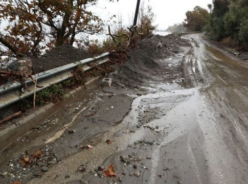 Κακοκαιρία Αθηνά: Σοβαρές ζημιές και στον δήμο Αγιάς της Λάρισας