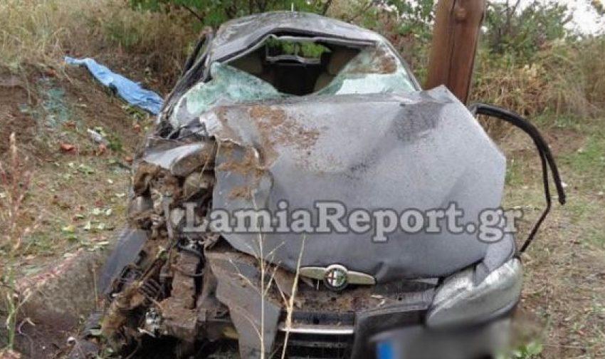 Νεκρός 22χρονος σε τροχαίο δυστύχημα στην Αθηνών-Λαμίας