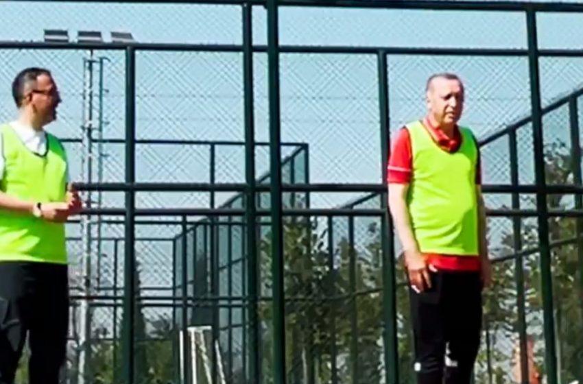 Ερντογάν: Απαντά με…μπάσκετ στην φημολογία για την υγεία του (vid)