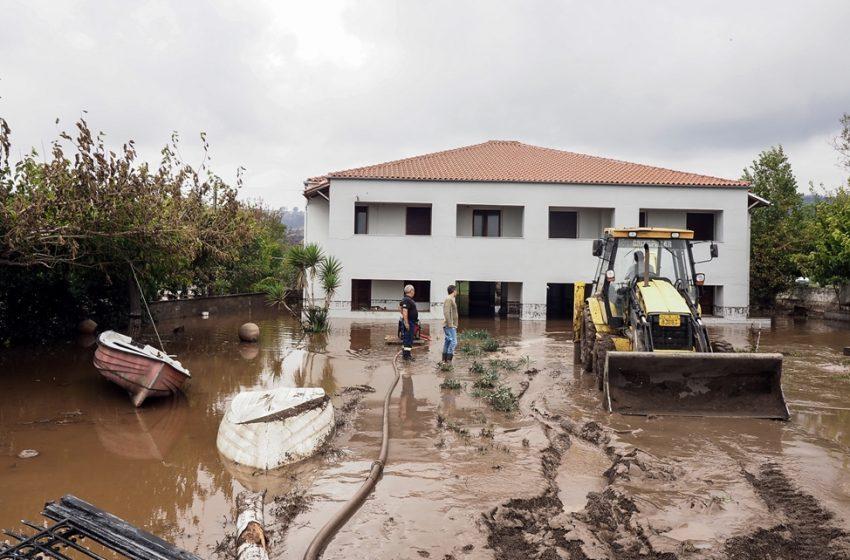 """Εύβοια: Σε απόγνωση οι κάτοικοι – """"Η καμένη γη δεν συγκρατεί το νερό"""""""
