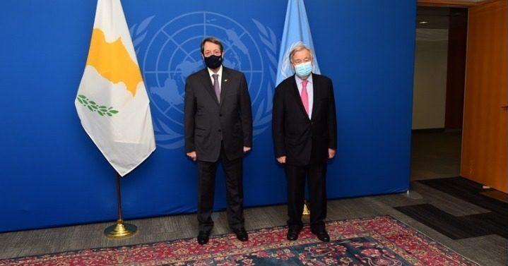 Επιστολή Αναστασιάδη προς τον γγ του ΟΗΕ για τις νέες μονομερείς και έκνομες ενέργειες της Τουρκίας