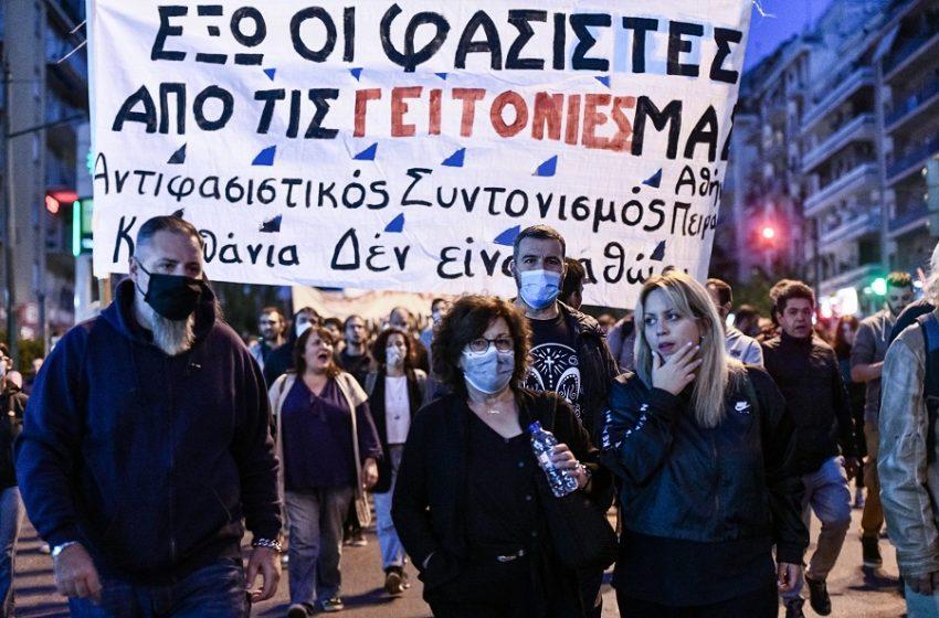 Ένας χρόνος από την καταδίκη των ναζί: Αντιφασιστική συγκέντρωση στο Εφετείο – Μ.Φύσσα: Ο αγώνας συνεχίζεται, τίποτα δεν έχει τελειώσει (vid)