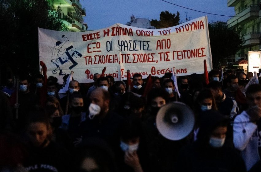 Όλα όσα έγιναν στην αντιφασιστική πορεία στη Σταυρούπολη – Υπήρξε αναίτια αστυνομική καταστολή; – Τι δείχνουν τα βίντεο (vid)