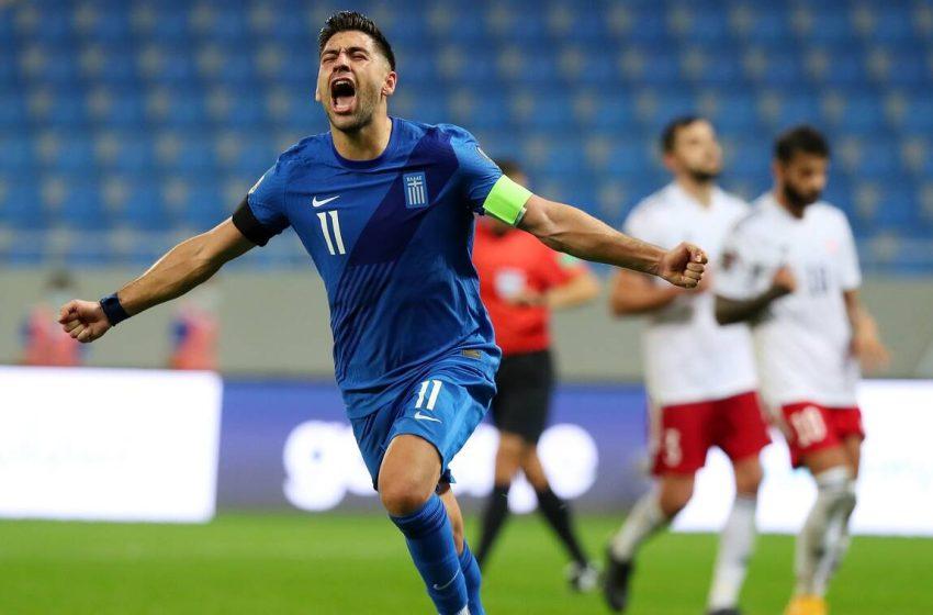 """Προκριματικά Μουντιάλ 2022, Γεωργία-Ελλάδα 0-2: """"Χρυσή"""" νίκη στο φινάλε"""