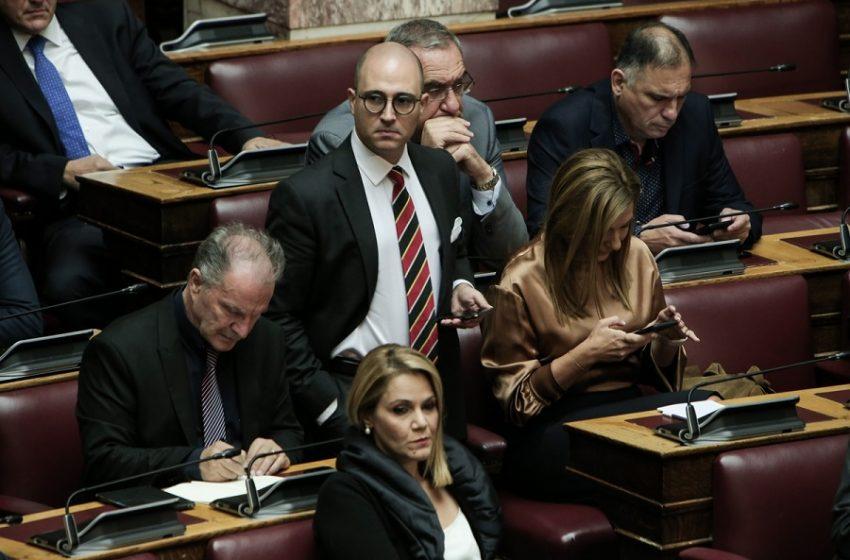 Εκτός κοινοβουλευτικής Ομάδας ΝΔ ο Μπογδάνος με απόφαση Μητσοτάκη