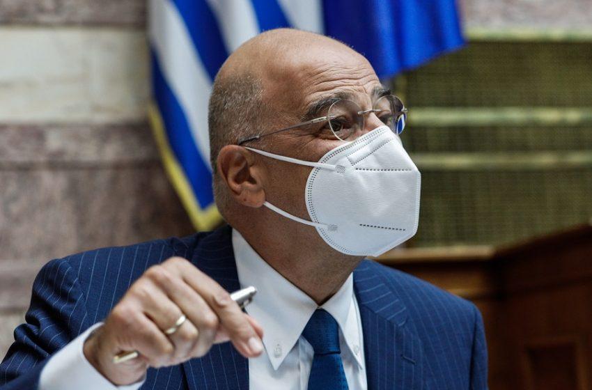 """Επίθεση Δένδια στον ΣΥΡΙΖΑ ότι επιχειρεί να δημιουργήσει εντυπώσεις – Αντιδράσεις στη ΝΔ για την """"αρχηγική"""" εμφάνιση που οδήγησε στη διαγραφή Μπογδάνου (vid)"""