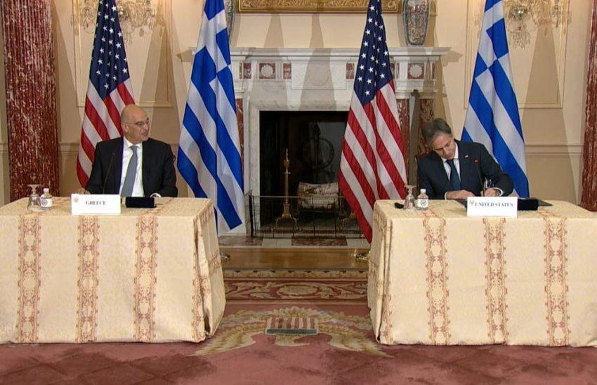 Ελληνοαμερικανική αμυντική συμφωνία: Τα βασικά σημεία – Η επιστολή Μπλίνκεν στον Μητσοτάκη