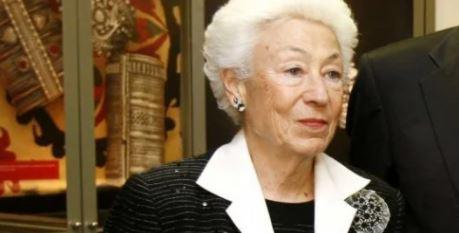 Πέθανε η Ουρανία Εφραίμογλου, πρόεδρος του Ιδρύματος Μείζονος Ελληνισμού