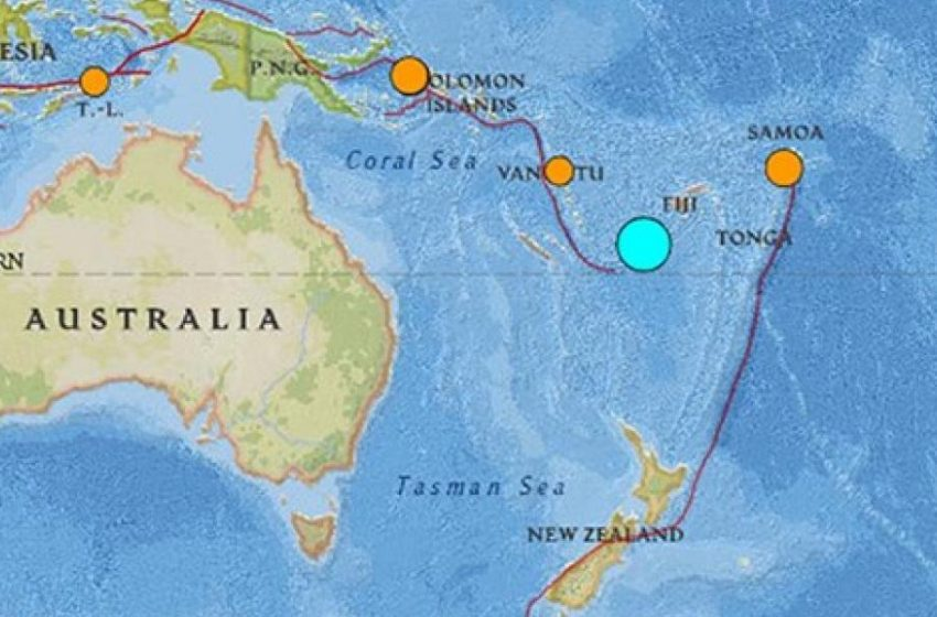 Eιρηνικός Ωκεανός: Ισχυρός σεισμός 7,2 Ρίχτερ στα νησιά Βανουάτου