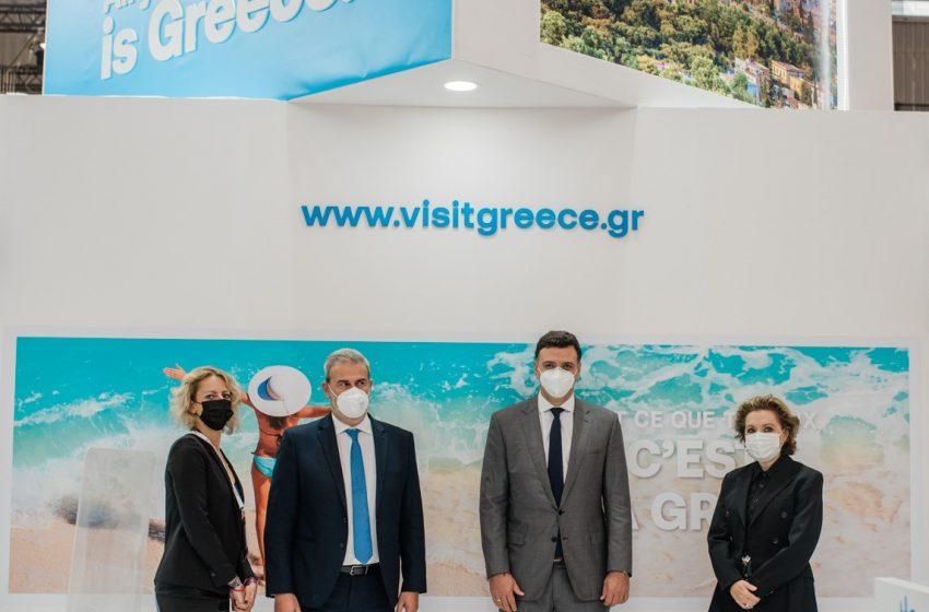 Β.Κικίλιας: Τα νούμερα των Γάλλων επισκεπτών έσπασαν τα ρεκόρ