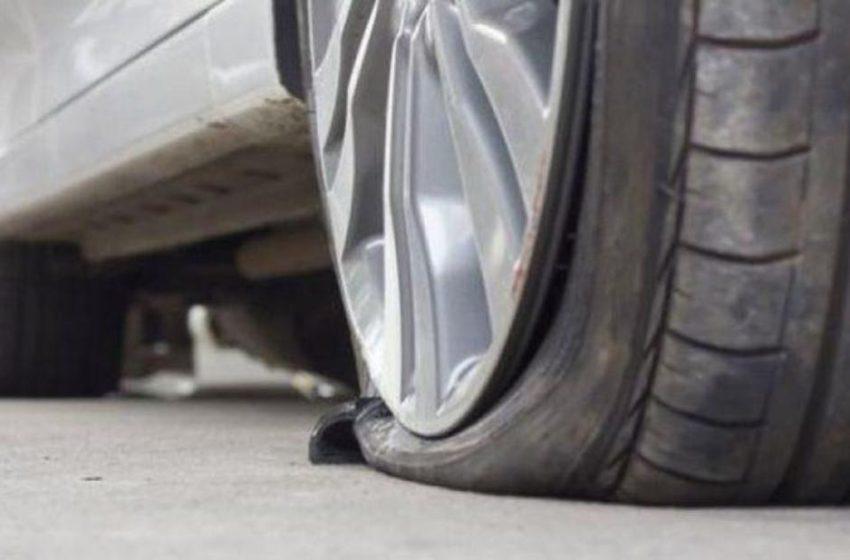 Βόλος:Έσκισαν τα λάστιχα σε δεκάδες αυτοκίνητα