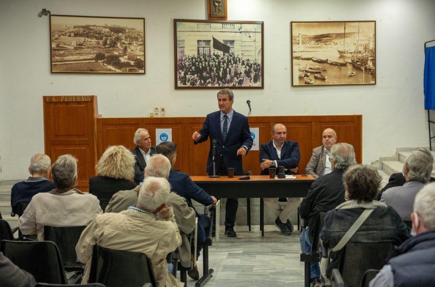 Λοβέρδος: Στο ίδιο σχήμα με Σπίρτζη, Ραγκούση, Ξενογιαννακοπούλου και Κουρουμπλή δεν θα βρεθούμε