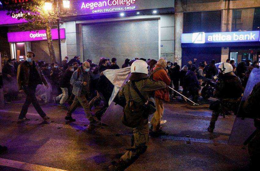 Ανακοίνωση της ΕΛ.ΑΣ για την αποψινή συγκέντρωση στο κέντρο της Αθήνας
