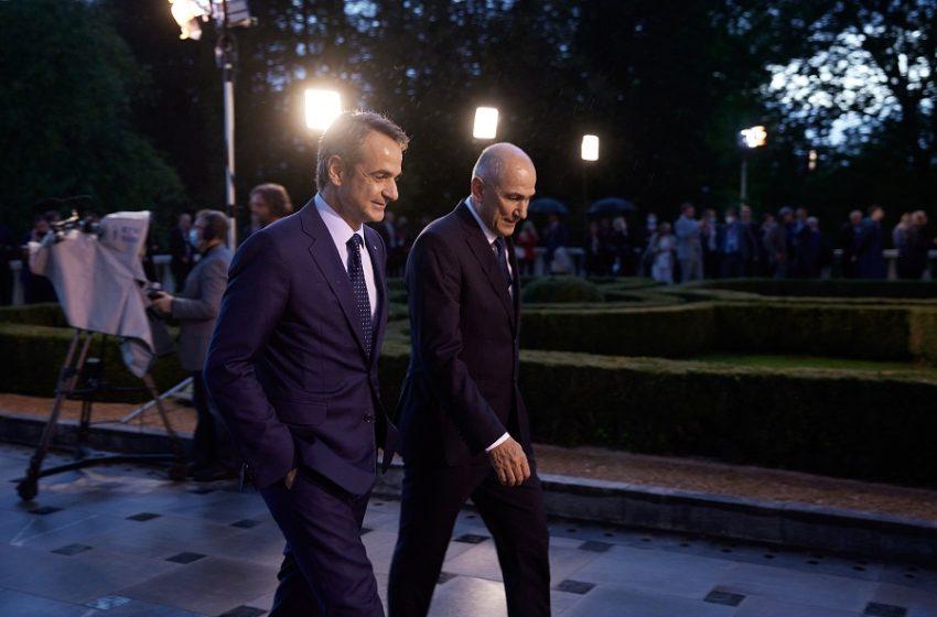 Μητσοτάκης: Ήρθε η ώρα πια να αναληφθούν από την ΕΕ ξεκάθαρες δεσμεύσεις όσον αφορά τα Δυτικά Βαλκάνια (vid)