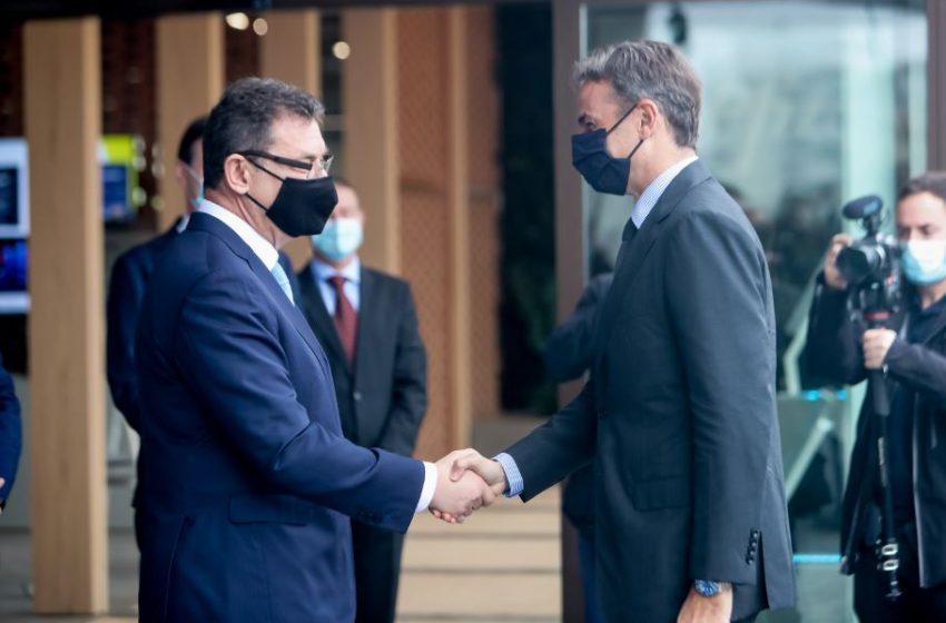 Μητσοτάκης: Επένδυση σταθμός για τη Θεσσαλονίκη και τη χώρα το Κέντρο Ψηφιακής Καινοτομίας της Pfizer