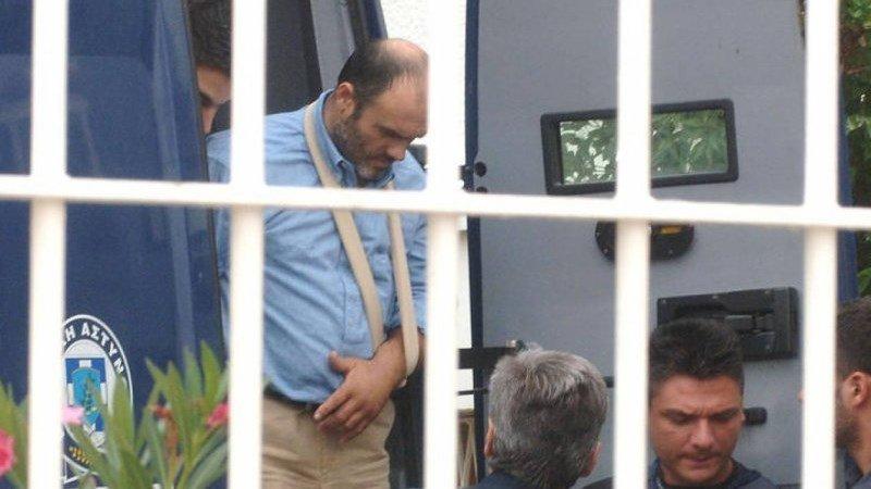 Αποφυλακίστηκε ο Παλαιοκώστας (εικόνες)