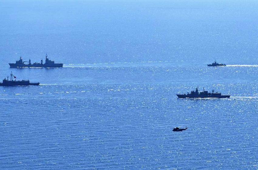 """""""Πολεμικό"""" σκηνικό στην περιοχή του Nautical Geo – Κλοιός από τουρκικά πλοία – Σε εξέλιξη η άσκηση """"Ευνομία"""""""