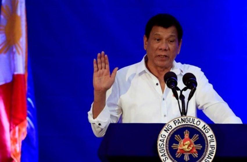 Φιλιππίνες: Ο Ντουτέρτε ανακοίνωσε ότι αποχωρεί από την πολιτική