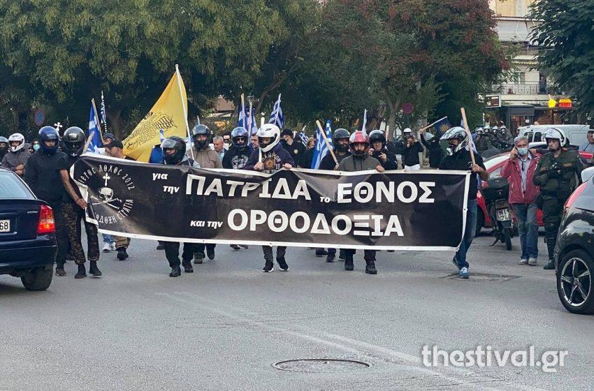 Δύο συγκεντρώσεις σε απόσταση αναπνοής σε εξέλιξη στη  Θεσσαλονίκη – Ισχυρές αστυνομικές δυνάμεις
