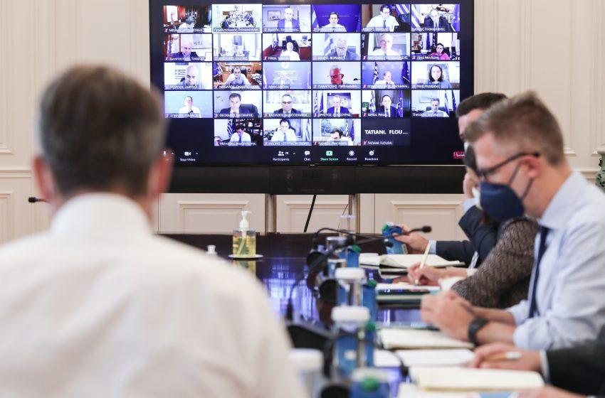 Σε εξέλιξη το υπουργικό συμβούλιο μέσω τηλεδιάσκεψης